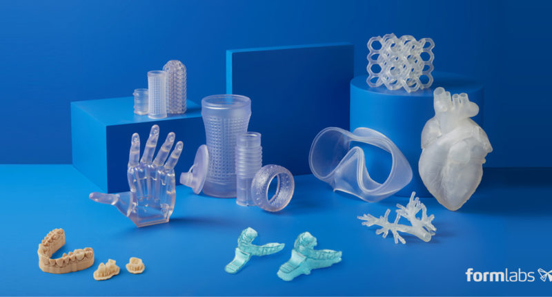 Formlabs introduces four new 3D-printing resins